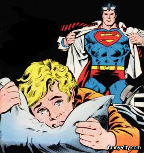 <p>If you see something different than Superman coming to rescue a crying boy then you know you have one.</p>