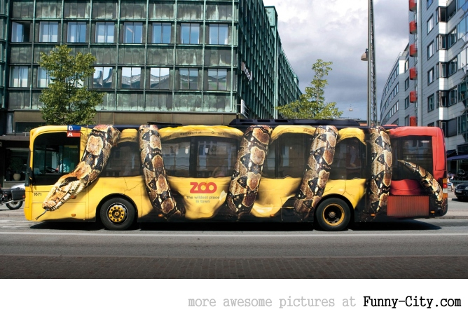 10 extremely creative advertisements on buses [240]
