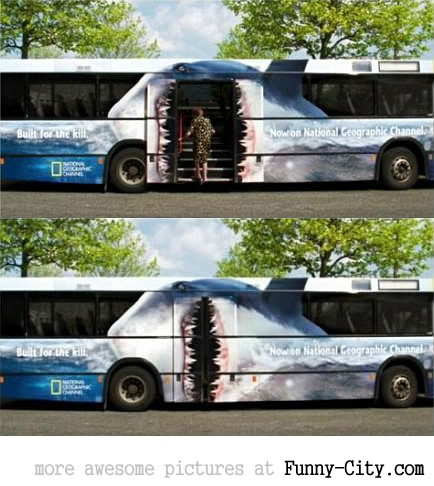 10 extremely creative advertisements on buses [243]