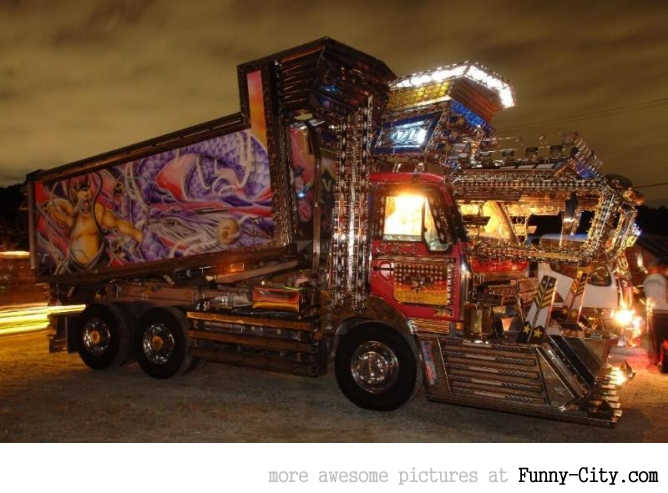 20 Japanese Bling Bling Trucks [305]