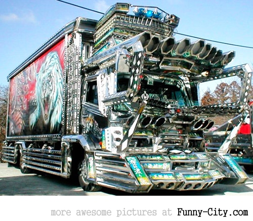 20 Japanese Bling Bling Trucks [292]