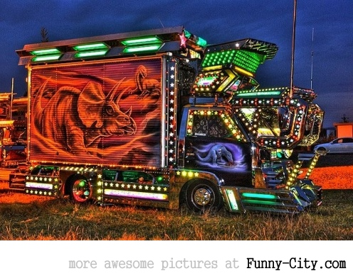 20 Japanese Bling Bling Trucks [296]