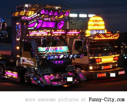 20 Japanese Bling Bling Trucks [294]