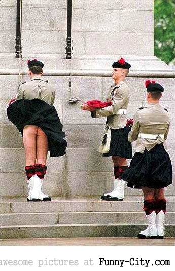 Revealing Scots Guards! [588]
