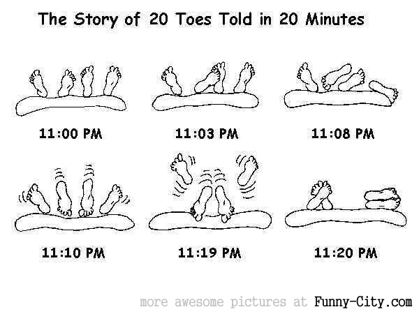 The story of 20 toes in 20 minutes... [662]