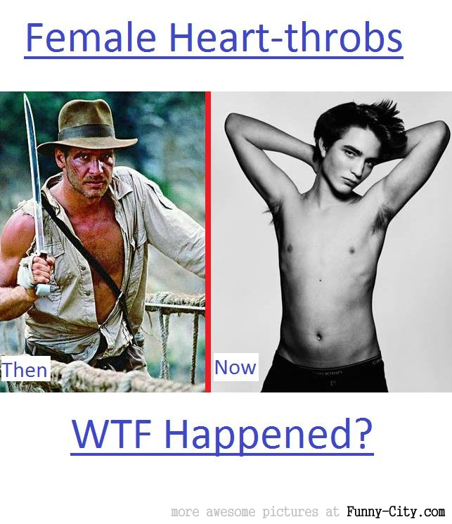 Female heart-throbs..