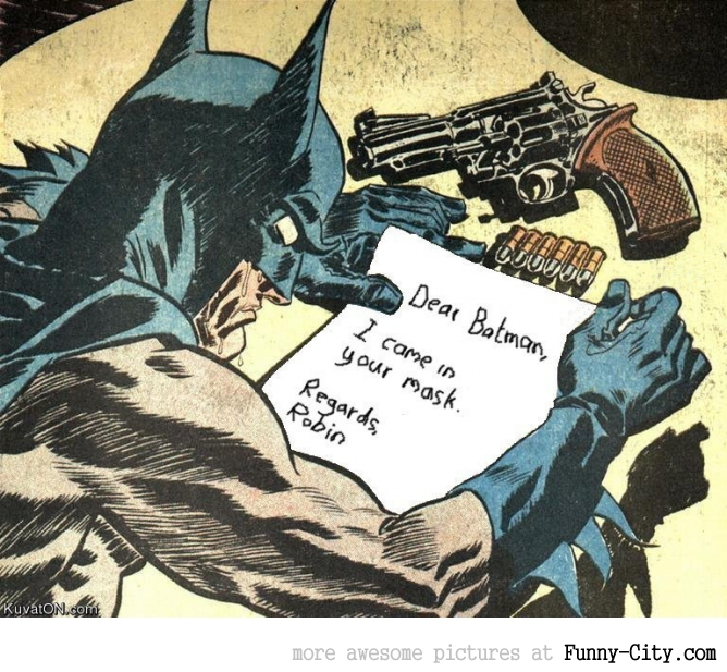 Dear Batman [758]