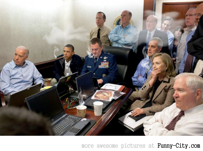 18+8 photoshoped pictures of the Situation Room [790]