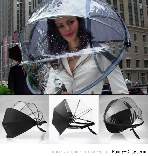 An umbrella like no other!