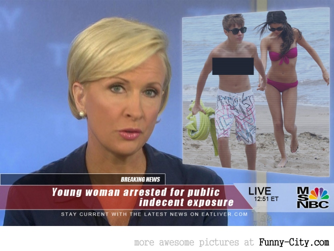 Young woman arrested...