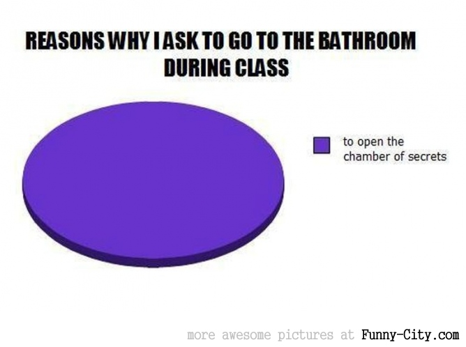 Why I go to the bathroom during class.... [1493]