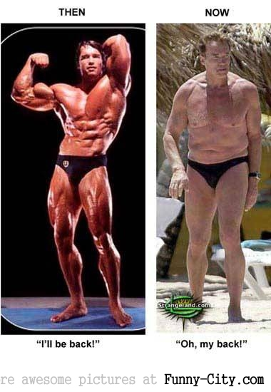 Arnold Schwarzeneger: Then and Now [1535]