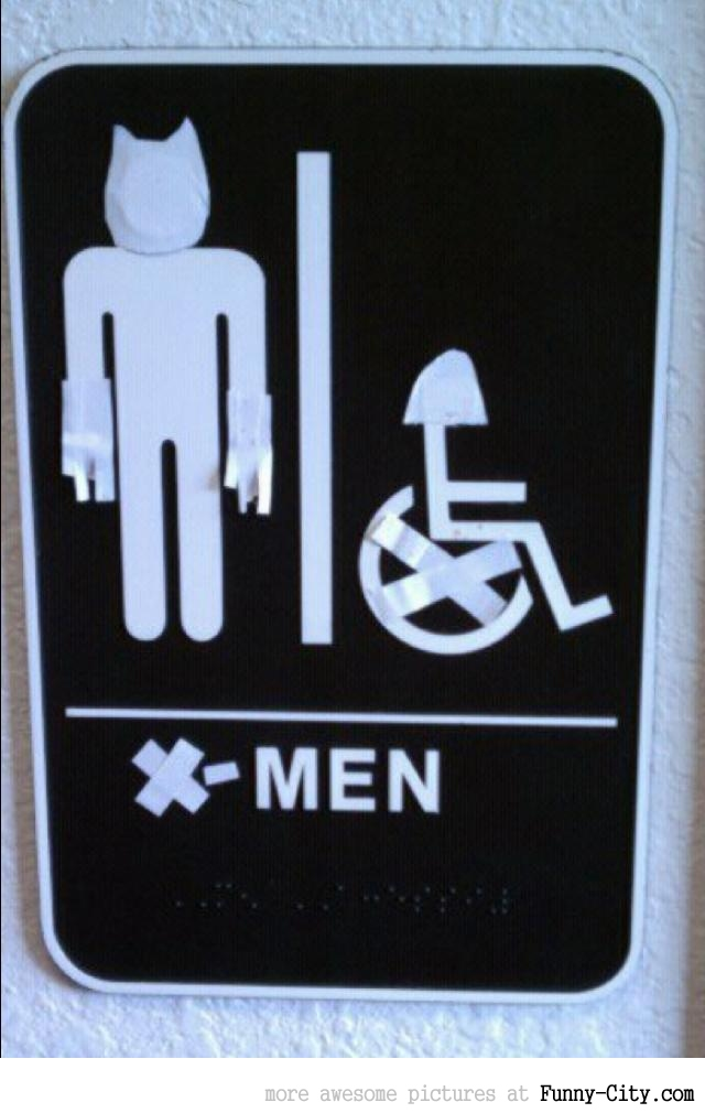 Epic Men's Toilet Sign [1555]