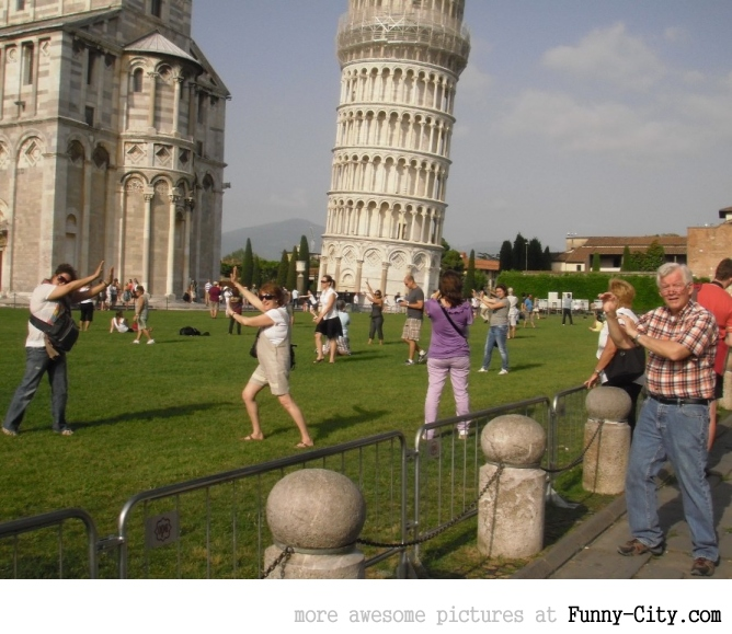 The Pisa Tower Routine [1858]