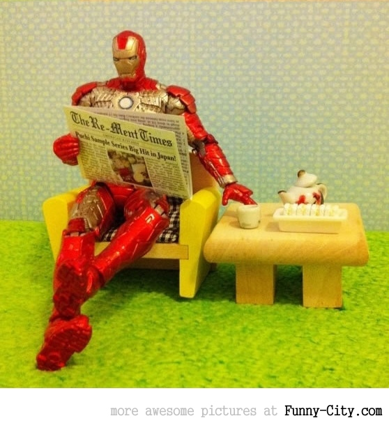 Iron Man paparazzi pictures [2086]