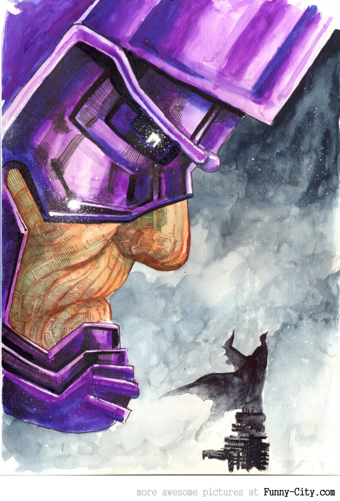 Batman vs Galactus [2176]