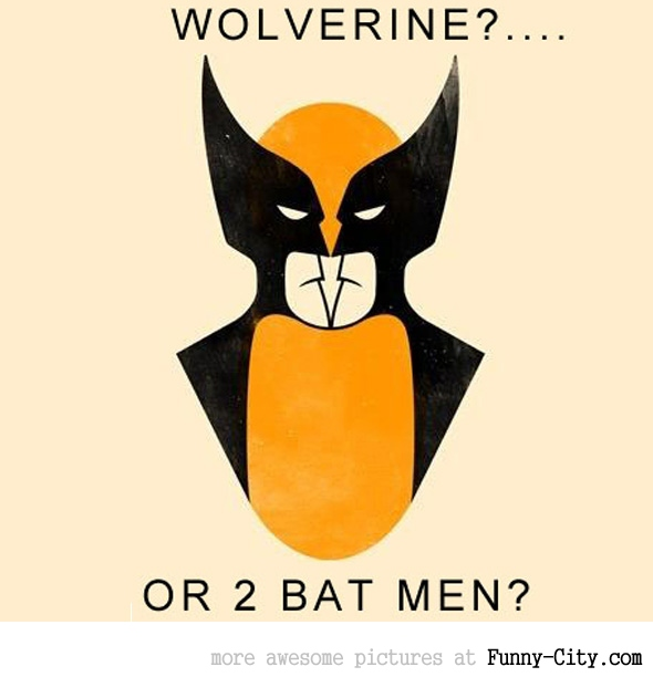 Wolverine or bat men? [2211]