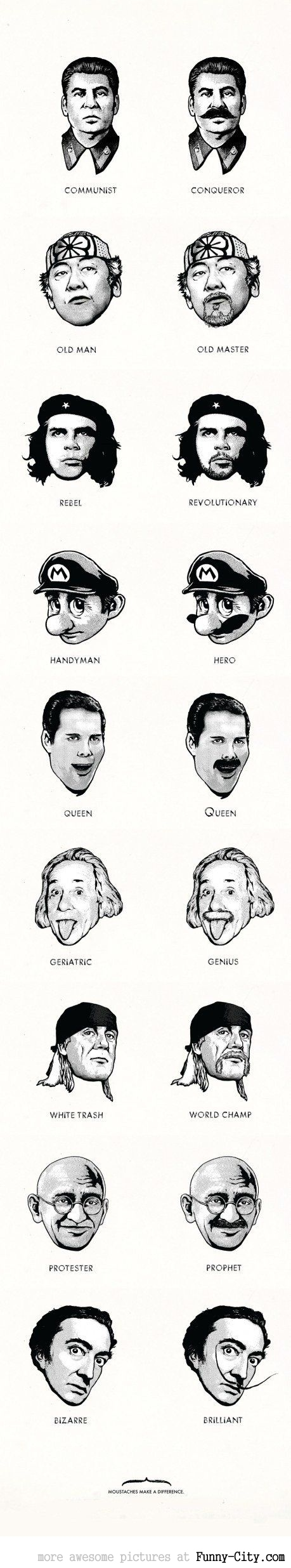 Moustaches make a difference [2265]