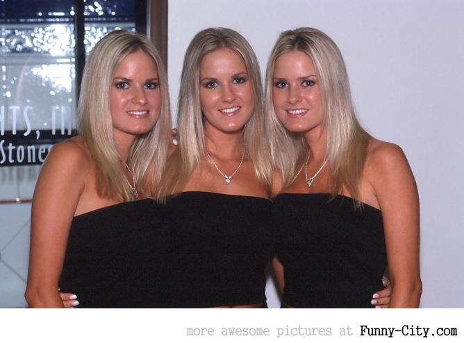 Sexy twins and triplets! [31 photos] [3333]