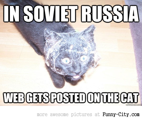 In Sovier Russia web is posted on cat [3542]