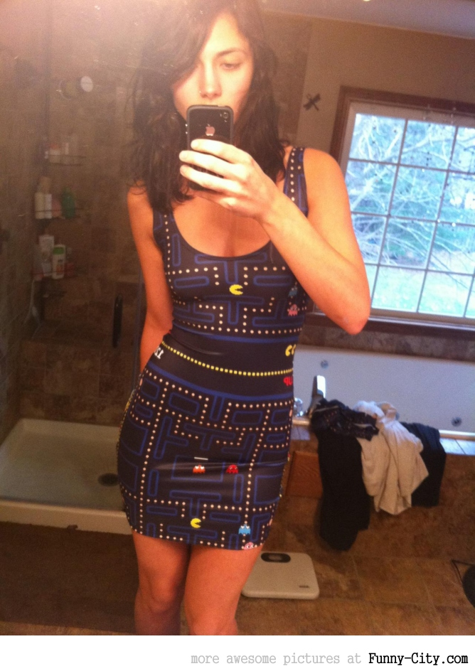 Awesome Pacman dress [3559]