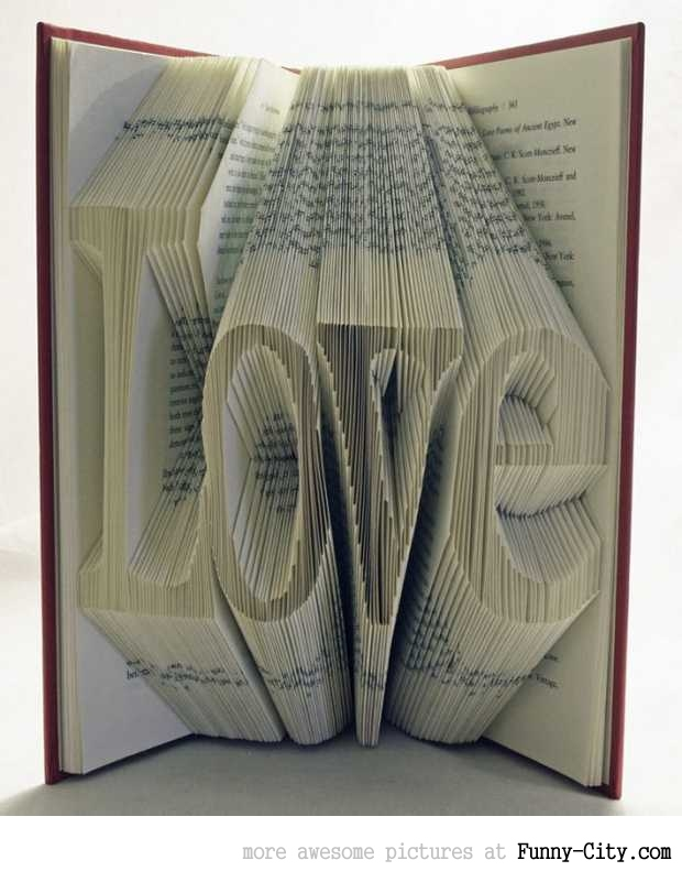 Amazing book art by Isaac Salazar