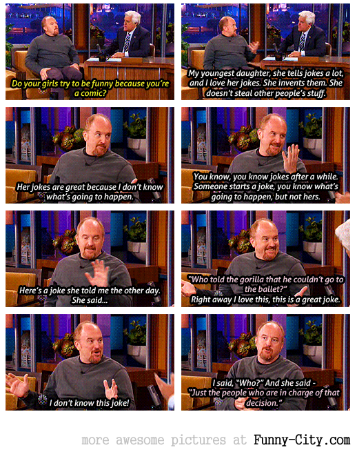 Louis CK on the Tonight Show. July, 2012 [4556]