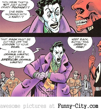 Even the Joker has limits