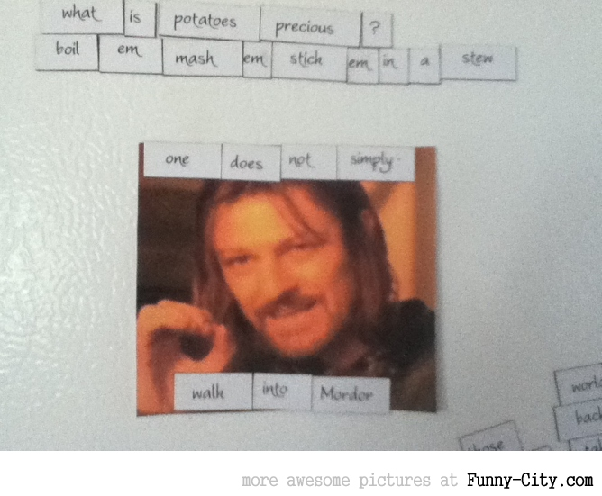 Lord of The Rings refrigerator magnets [4827]
