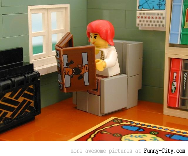 Laws from Leviticus in Lego. WTF... [20 photos] [5748]