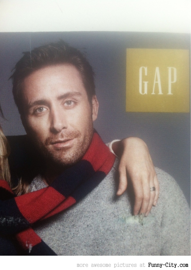 This Gap model looks familiar