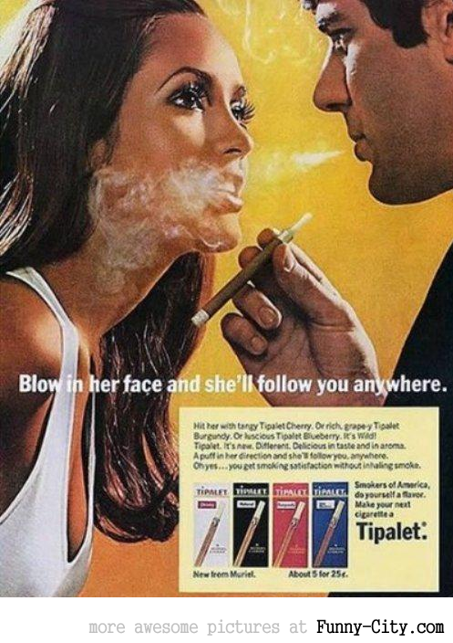 14 ridiculously offensive vintage advertisements that would definitely be BANNED today [6174]
