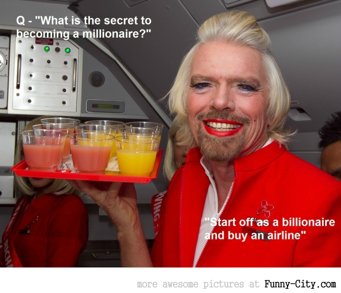 Richard Branson on how to get rich