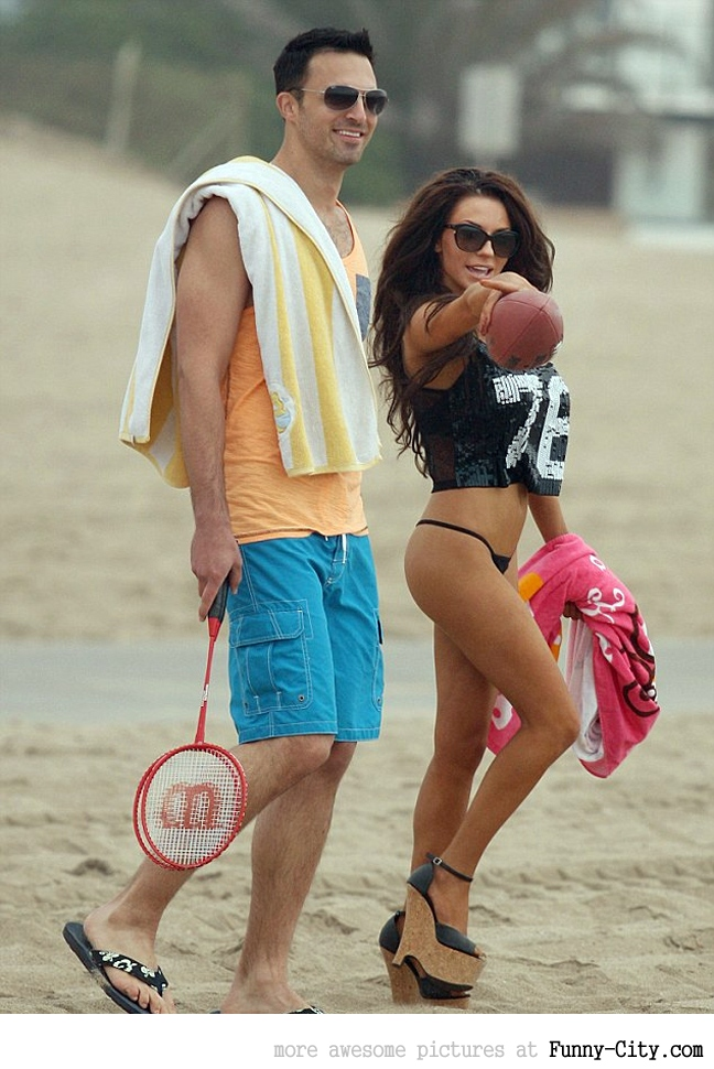 Courtney Stodden casually
