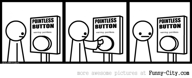 Pointless button