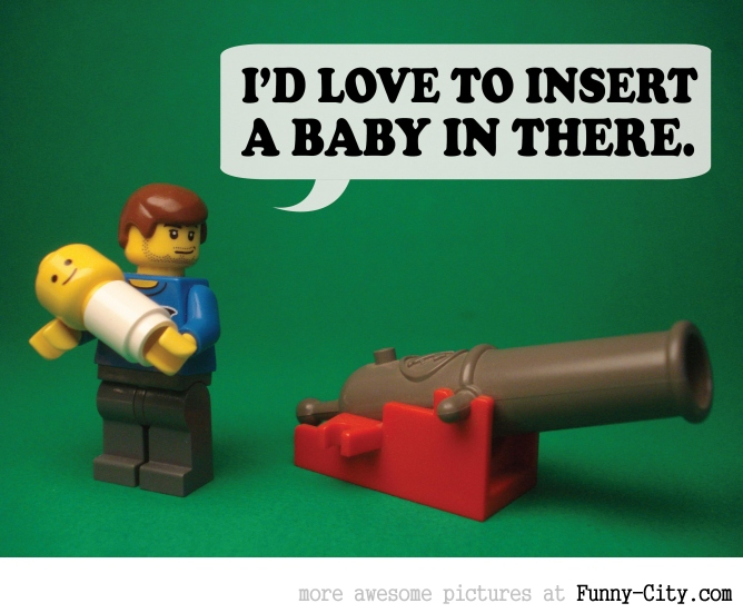 19 Naughty comments, illustrated with LEGO [6733]