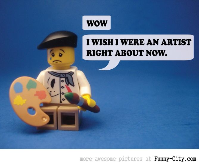 19 Naughty comments, illustrated with LEGO [6735]