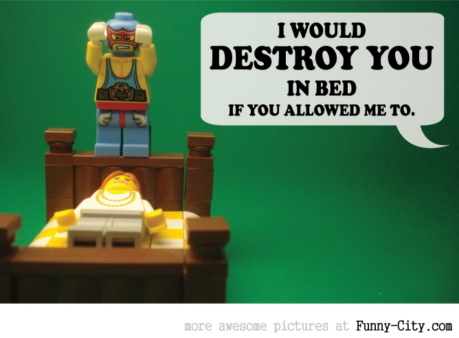 19 Naughty comments, illustrated with LEGO [6736]