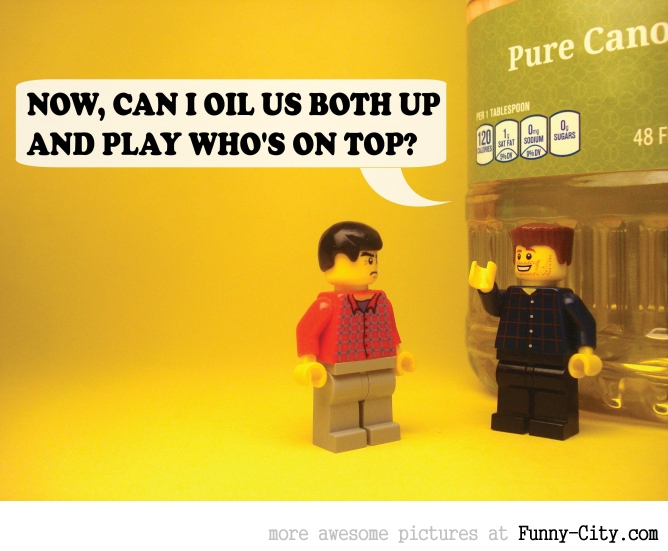 19 Naughty comments, illustrated with LEGO [6737]