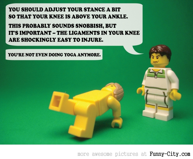 19 Naughty comments, illustrated with LEGO [6739]