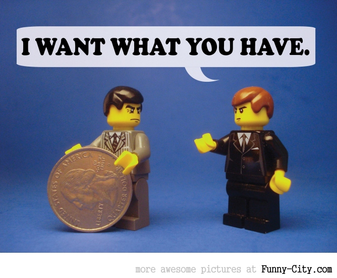 19 Naughty comments, illustrated with LEGO [6743]