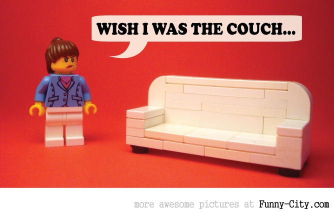 19 Naughty comments, illustrated with LEGO [6747]