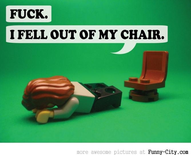 19 Naughty comments, illustrated with LEGO [6750]