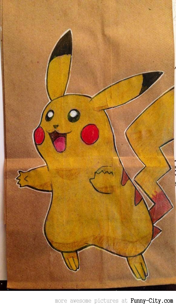Artist, draws awesome lunch bags for son [17 pics] [7075]