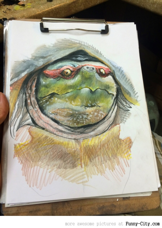 More natural Ninja Turtle. [7759]