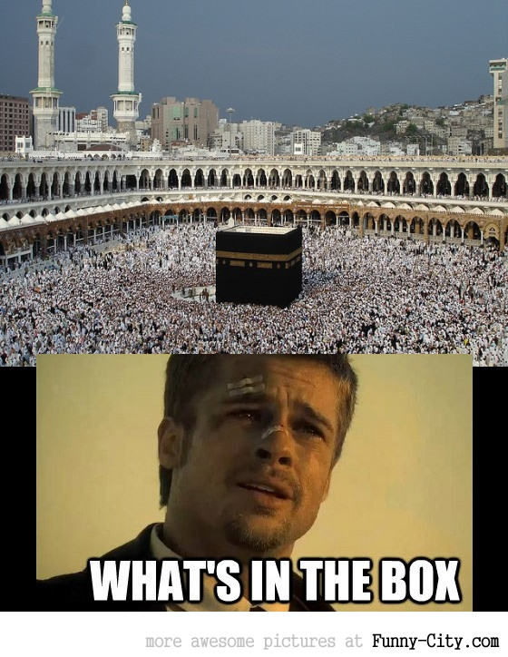 Every time I see a picture of Mecca