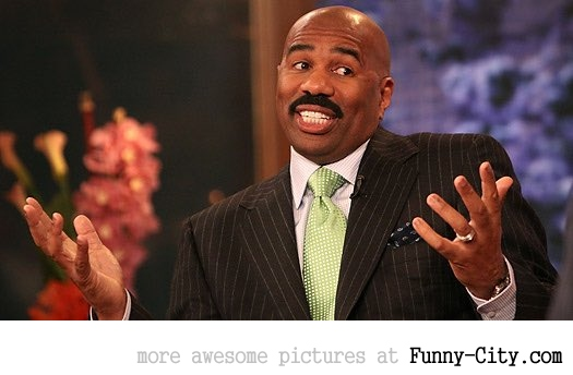 Funniest reactions of Steve Harvey fail (14 photos) [9621]