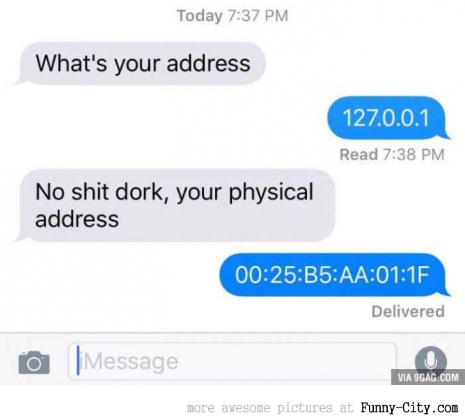 Physical address