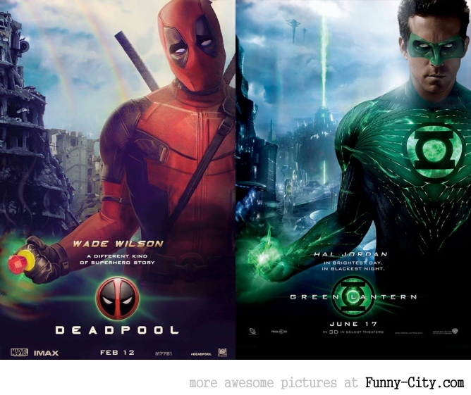 The Marketing for Deadpool is brilliant