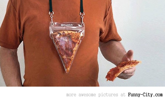 Portable pizza
